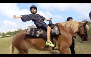 ゆたぼん乗馬体験