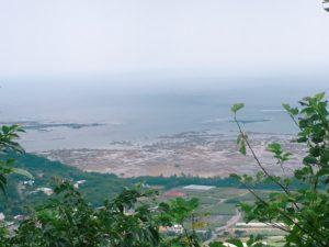 玉城城跡からの景色